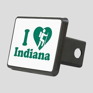 Love Hiking Indiana Rectangular Hitch Cover