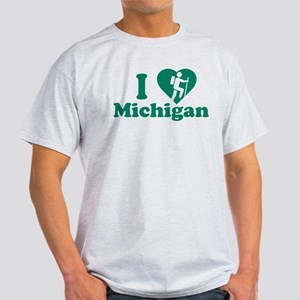 Love Hiking Michigan Light T-Shirt