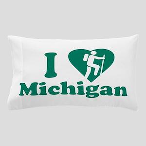 Love Hiking Michigan Pillow Case