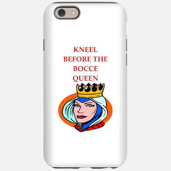Bocce joke iPhone 6/6s Tough Case