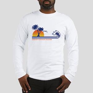 Grand Cayman Island Long Sleeve T-Shirt