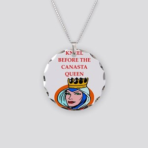Canasta joke Necklace