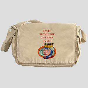 Canasta joke Messenger Bag