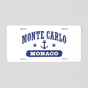 Monte Carlo Monaco Aluminum License Plate