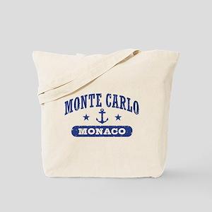 Monte Carlo Monaco Tote Bag