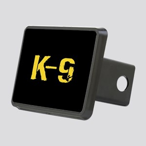 Police: K-9 Dog Handler Rectangular Hitch Cover