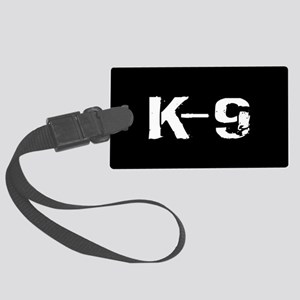 Police: K-9 Dog Handler Large Luggage Tag