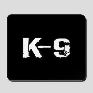 Police: K-9 Dog Handler Mousepad