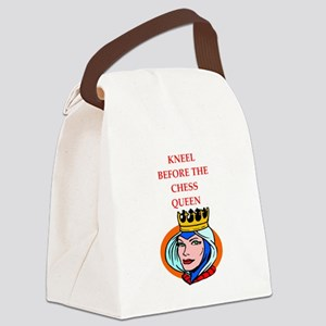 Chess joke Canvas Lunch Bag