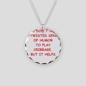 Cribbage joke Necklace