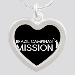 Brazil, Campinas Mission (Mo Silver Heart Necklace