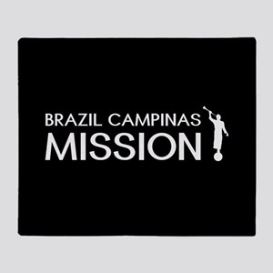 Brazil, Campinas Mission (Moroni) Throw Blanket