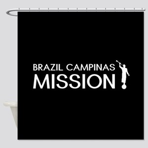 Brazil, Campinas Mission (Moroni) Shower Curtain