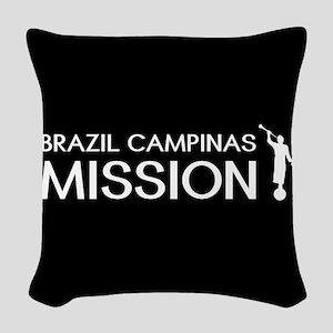 Brazil, Campinas Mission (Moro Woven Throw Pillow