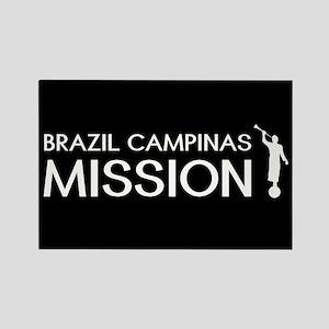 Brazil, Campinas Mission (Moroni) Rectangle Magnet