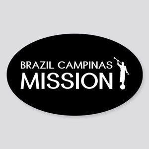 Brazil, Campinas Mission (Moroni) Sticker (Oval)
