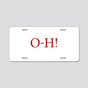 oh, beautiful day! o-h sayi Aluminum License Plate