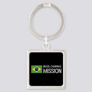 Brazil, Campinas Mission (Flag) Square Keychain