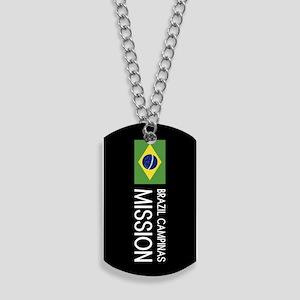 Brazil, Campinas Mission (Flag) Dog Tags