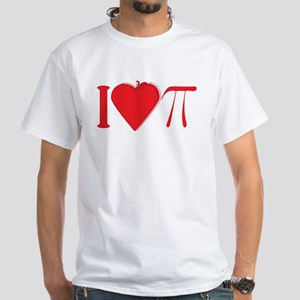 I Heart Pi Red T-Shirt