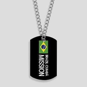 Brazil, Cuiabá Mission (Flag) Dog Tags