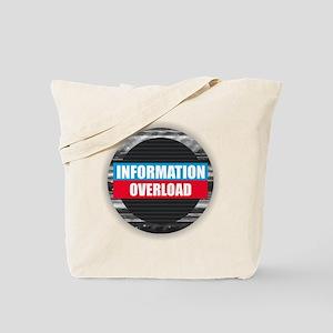 Information Overload Tote Bag