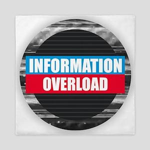 Information Overload Queen Duvet