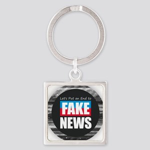 End Fake News Keychains