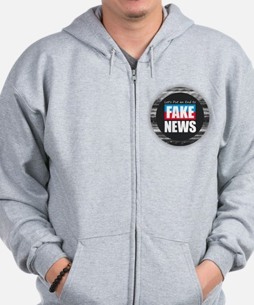 End Fake News Sweatshirt
