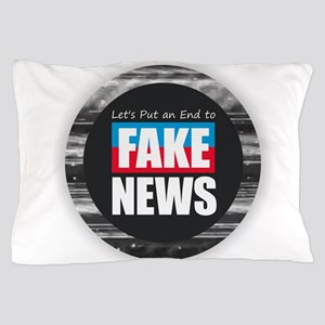 End Fake News Pillow Case