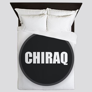 CHIRAQ - Black and White Queen Duvet