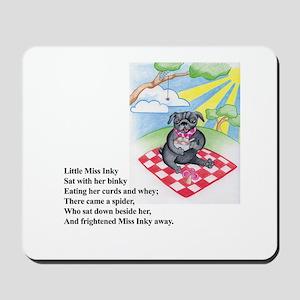Little Miss Inky Mousepad