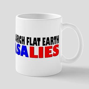 Research Flat Earth Nasa Lies Mugs