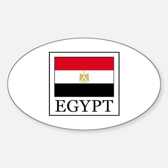 Cute Proud egyptian Sticker (Oval)