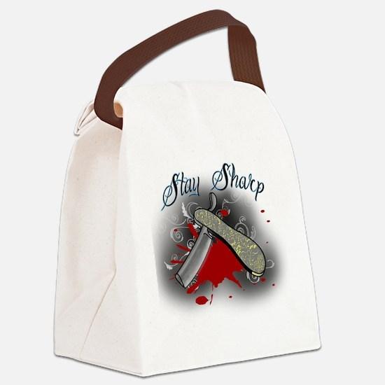 Cute Blood Canvas Lunch Bag