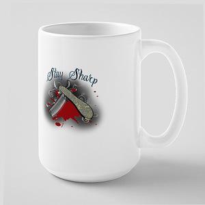 stay sharp Mugs