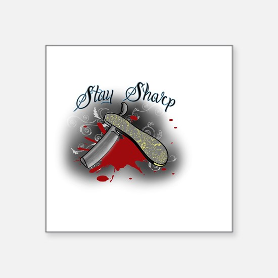 stay sharp Sticker