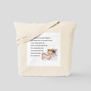 Pugs of Kilkenny Tote Bag