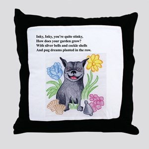 Inky Inky You're So Stinky... Throw Pillow