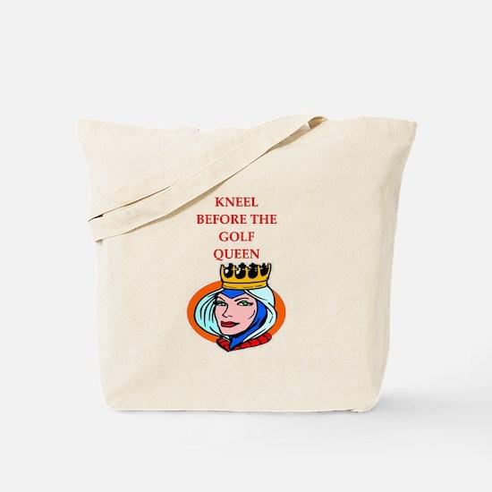 Golf joke Tote Bag