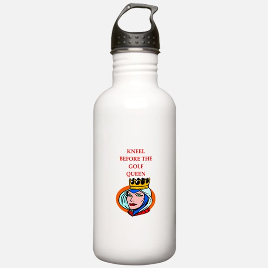 Golf joke Water Bottle
