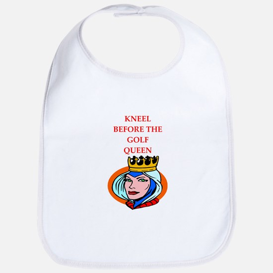 Golf joke Baby Bib