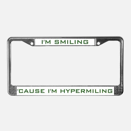 I'm Hypermiling License Plate Frame