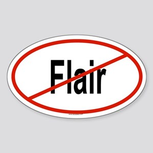 FLAIR Oval Sticker