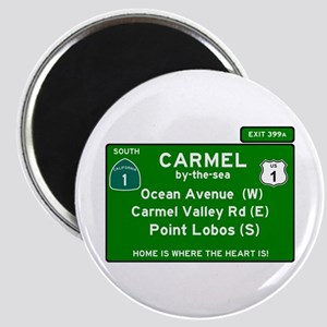 HIGHWAY 1 SIGN - CALIFORNIA - CARMEL - OCE Magnets