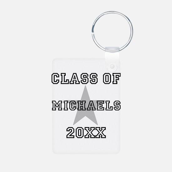 Class of 20xx Star Name Keychains