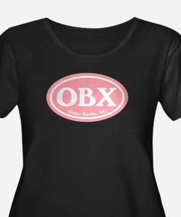 OBX Pink Outer Banks Plus Size T-Shirt