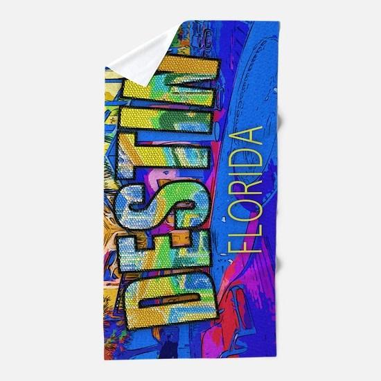 Destin Florida Beach Towel