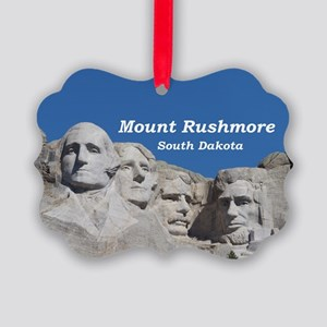 Mount Rushmore Picture Ornament