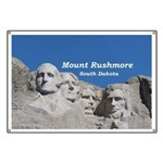 Mount Rushmore Banner